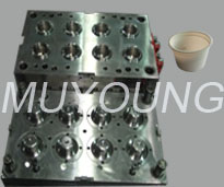 Multi-cavities thin wall mold